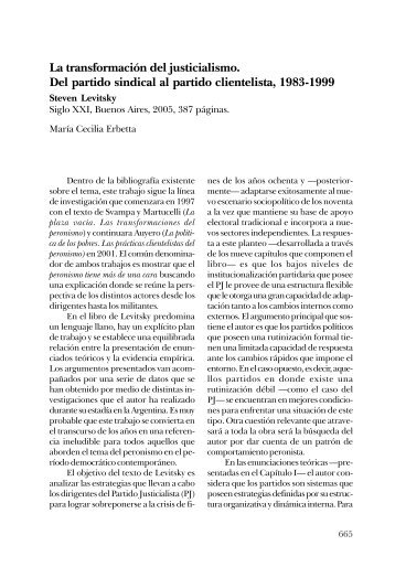 REVISTA SAAP v2 n3 - Sociedad Argentina de Análisis Político, SAAP