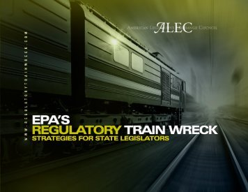 EPA's Regulatory Train Wreck - American Legislative Exchange ...