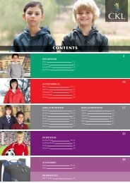 Download the latest CKL School wear brochure (2.2Mb PDF)