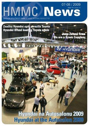 (ke stažení v pdf) číslo 17/Červenec 2009 - HYUNDAI Motor ...