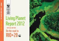 Living Planet Report 2012 RIO+20 - WWF