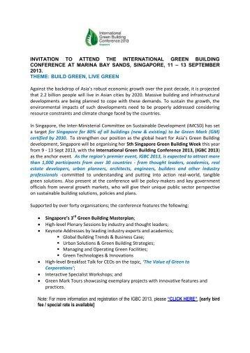 209-2013_IGBC 2013_Invitation to Attend The International Green ...