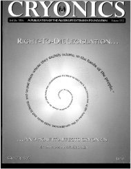 2nd Issue [PDF 4 MB] - Alcor Life Extension Foundation