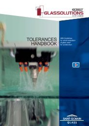 TOLERANCES HANDBOOK - ECKELT GLAS GmbH