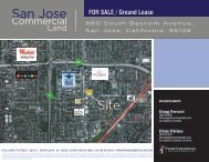 San Jose Site - Prime Commercial, Inc