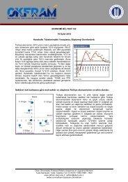 Ekonomi Bülteni 122 - OKFRAM - Okan Üniversitesi
