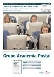 Reportaje: ACADEMIA POSTAL UNO, S.L.: Empresa Gacela - Ardan