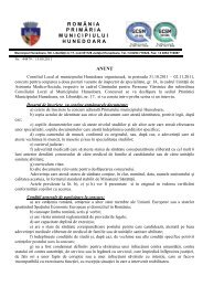 anunt UAMS si CAMIN BATRANI - pentru site - Primaria Municipiului ...