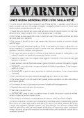 MANUALE D'USO DEI KITE E DEI SISTEMI DI ... - Cabrinha - Page 7