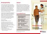Periphere arterielle Verschlusskrankheit (pAVK) Patienteninformation