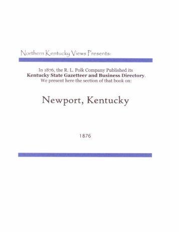 Newport - Northern Kentucky Views