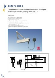 GEZE TS 4000 E - Safelincs