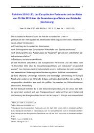 Richtlinie 2010/31/EU - RACK rechtsanwaelte