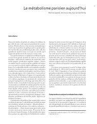 Annales de la Recherche Urbaine