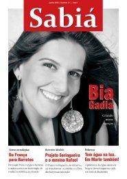 Sabiá - junho - 2009 - nº 21 - Outorga.com.br