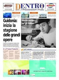 Guidonia - La Voce del Nord Est Romano