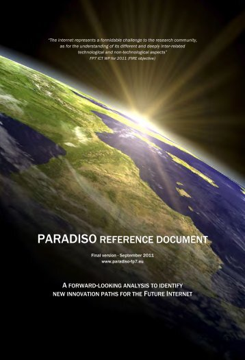PARADISO REFERENCE DOCUMENT