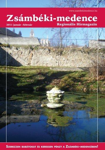 2011 JANUÁR-FEBRUÁR PDF-ben letölthető - Zsámbéki-medence