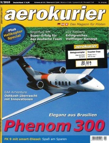 AEROkurier 2010 - FK-Lightplanes