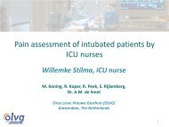 Pain assessment in adult ICU: Critical-Care Pain Observation Tool ...