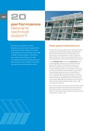 performance data and technical support - National Glass