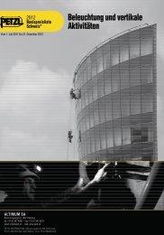 Beleuchtung und vertikale Aktivitäten - Altimum SA