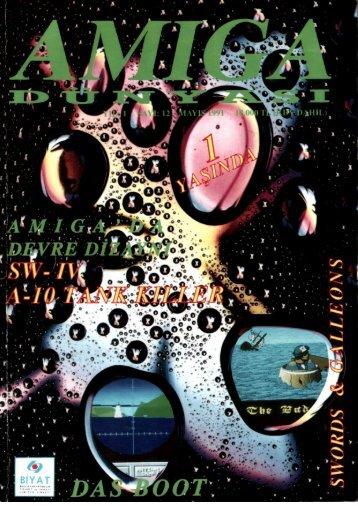 Amiga Dunyasi - Sayi 12 (Mayis 1991).pdf - Retro Dergi