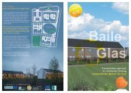 Baile Glas A sustainable approach to community housing
