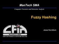 Fuzzy Hashing - Jesse Kornblum