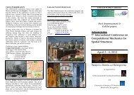 7th International Conference on Computational Mechanics for ...