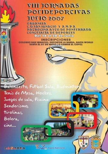 revista jornadas 2007 para descargar en pdf - Colegio Diocesano ...