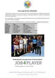 Herre Liga All Stars 2012/2013 - HÃ¥ndbold Spiller Foreningen