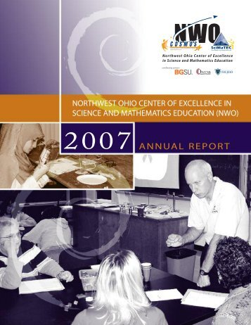 2007 ANNUAL REPORT - cosmos - Bowling Green State University