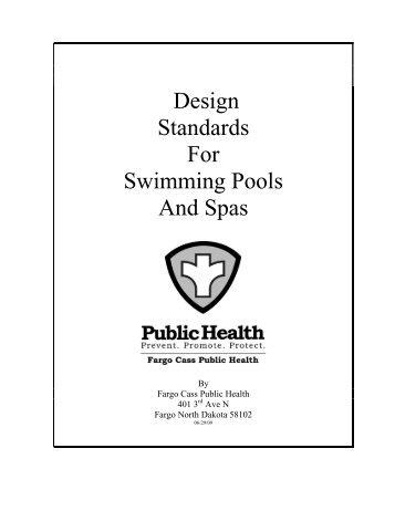 Pool Design Standards - City of Fargo