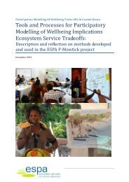 Participatory tools and processes from Pmowtick
