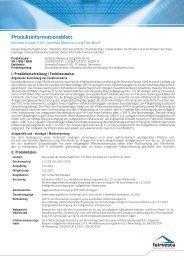 Produkt-Informationsblatt Maximus Long Flex Bond - fairvesta ...