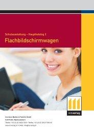 Flachbildschirmwagen - innverlag