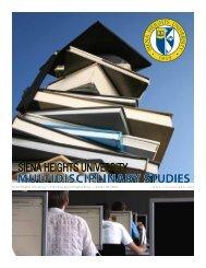 View Brochure - Siena Heights University