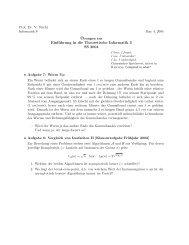 Einführung in die Theoretische Informatik 3 SS 2004