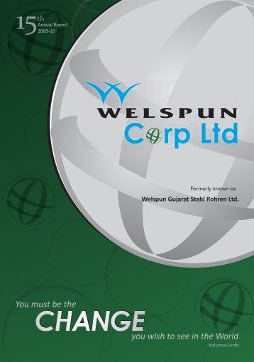 Annual Report FY 2009-10 - Welspun