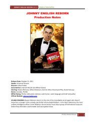 PDF Production Notes - Visual Hollywood