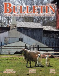 bulletin - Allegheny County Medical Society