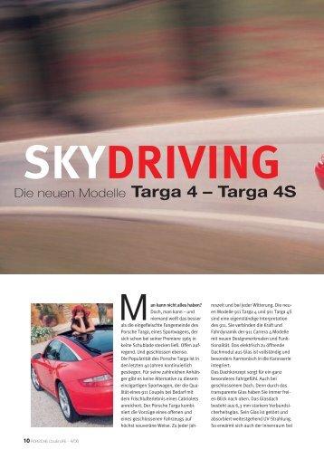 skydriving - Porsche Club Deutschland