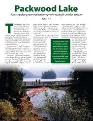 Packwood Lake Hydro - Washington Public Utility District Association