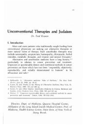 Volume 19 - RJJ Journal of Halacha and ... - YU Torah Online