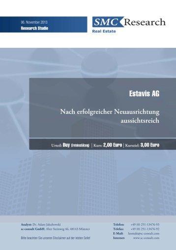 Estavis AG - investor relations