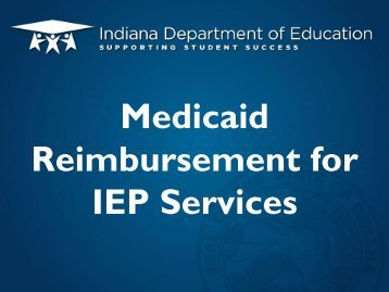21 Tracy Brunner Medicaid Claiming for IEP Srvcs