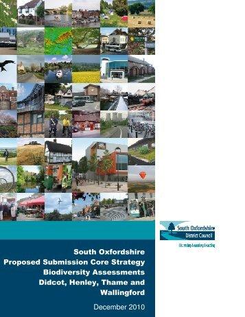 Biodiversity Assessment - South Oxfordshire District Council