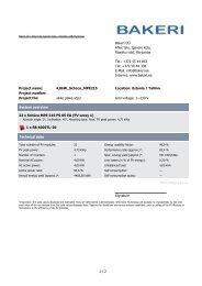 +372 55 44 953 Tel: +372 50 84 338 E-Mail: info ... - Bakeri OÜ