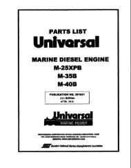 201021 Parts Manual M25XPB-M35B-M40B revision 2 ... - Westerbeke